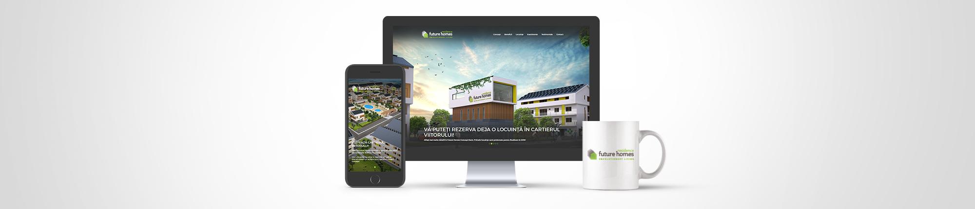 Future Homes - website
