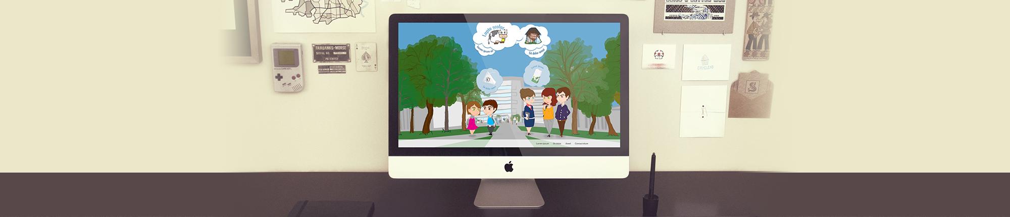 Lapte scolar website